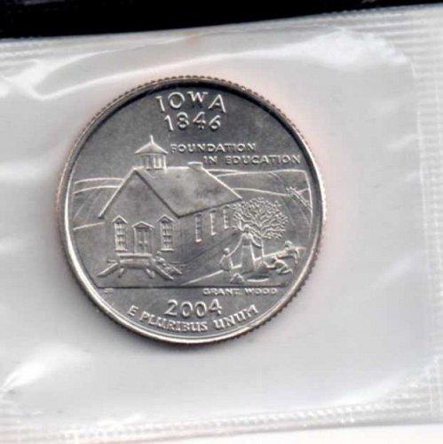 2004d BU Iowa Washington Quarter