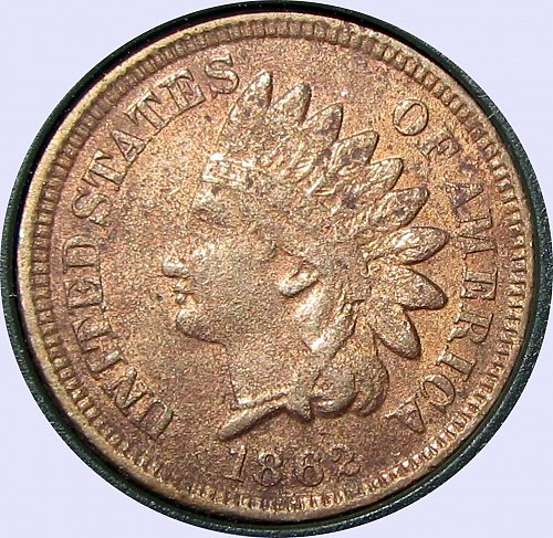 1862 INDIAN HEAD CENT   GORGEOUS  (FB)