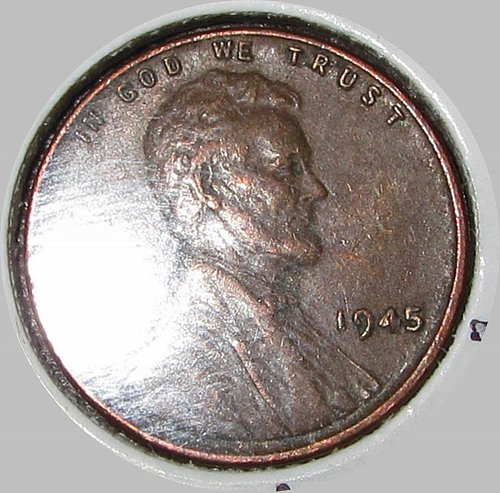 1945 P Lincoln Memorial Cent