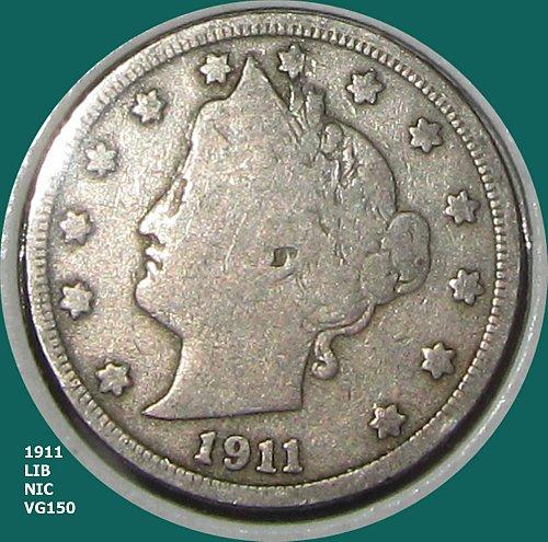 1911 P LIBERTY NICKEL