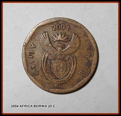 2004 SOUTH AFRIKA BORWA