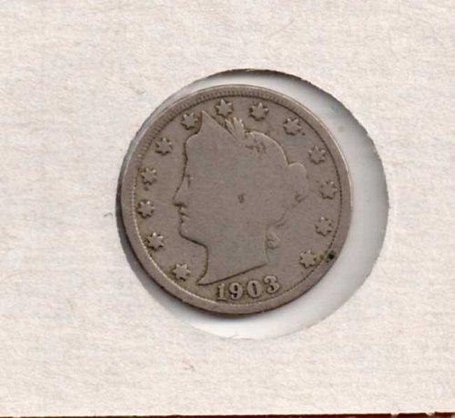 1903 p Liberty Nickel