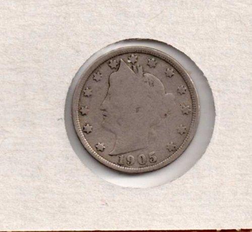 1905p Liberty Nickel