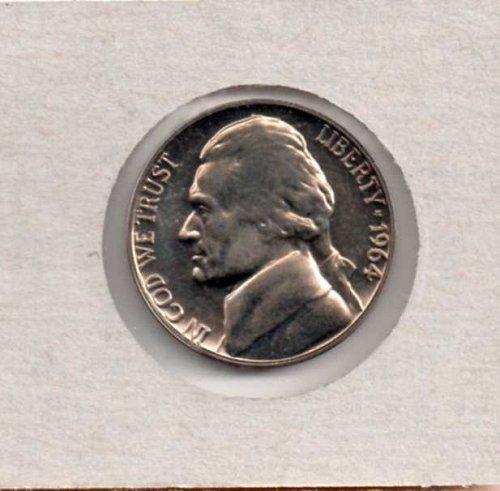 1964 p Proof Jefferson Nickel