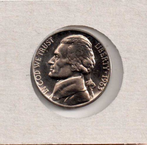 1963 p Proof Jefferson Nickel