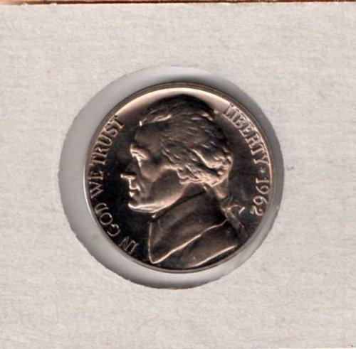 1962 p Proof Jefferson Nickel