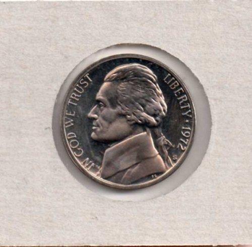 1972 s Proof  Jefferson Nickel