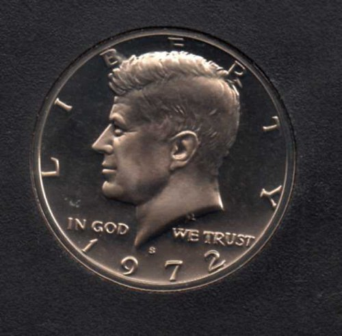 1972 s Proof Kennedy Half Dollar