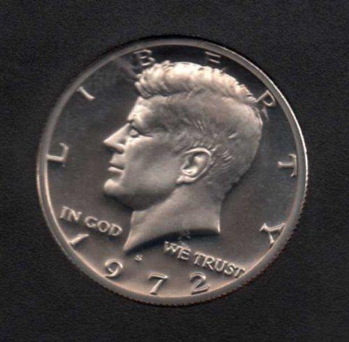 1972 s Proof Kennedy Half Dollar       #2