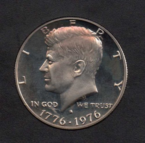 1976 s Proof Kennedy Half Dollar
