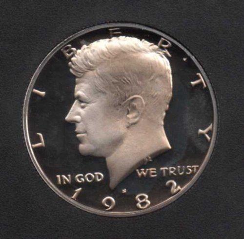 1982 s Proof Kennedy Half Dollar