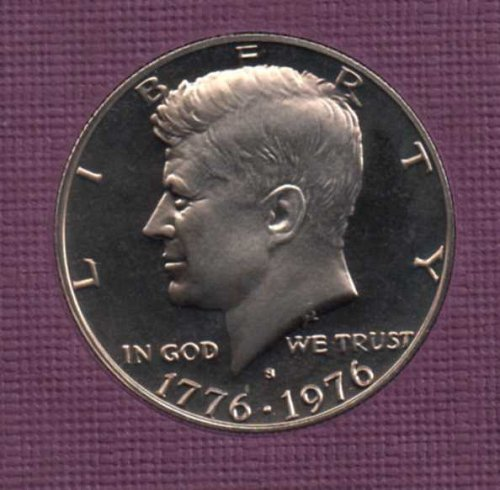 1976 s Proof Kennedy Half Dollar      #2