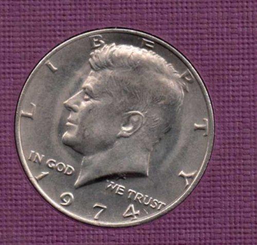 1974 p BU Kennedy Half Dollar