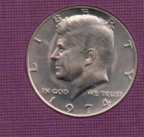 1974 p BU Kennedy Half Dollar      #2