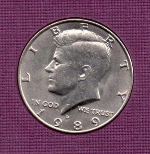 1989 d UNC Kennedy Half Dollar      #2