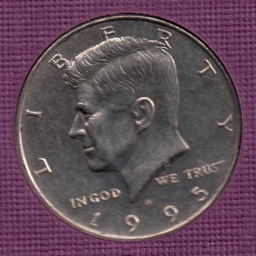 1995 d UNC Kennedy Half Dollar