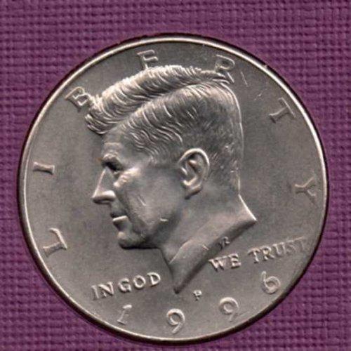 1996 p UNC Kennedy Half Dollar