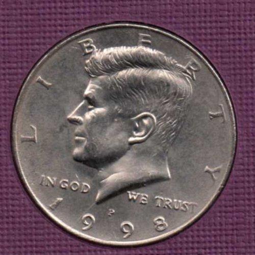 1998 p BU Kennedy Half Dollar