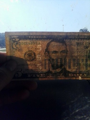 2006 rare 5 dollar bill