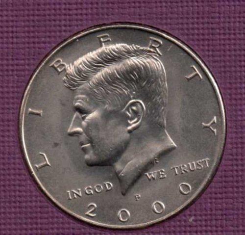 2000 p BU Kennedy Half Dollar        #2