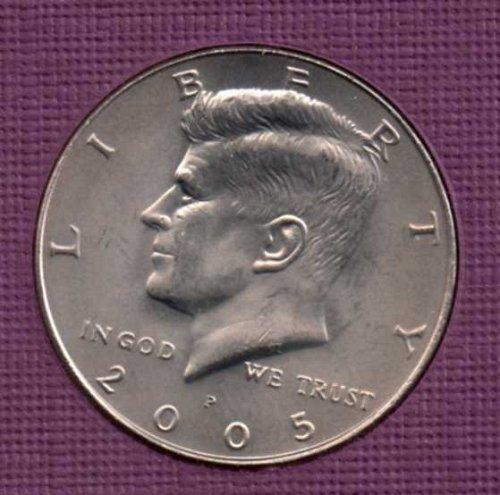 2005 p BU Kennedy Half Dollar        #2