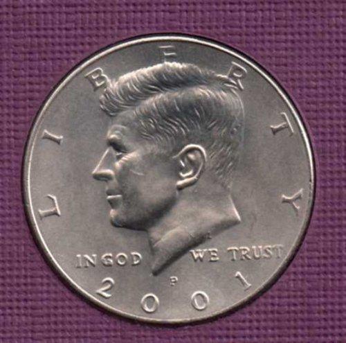 2001 p BU Kennedy Half Dollar      #2