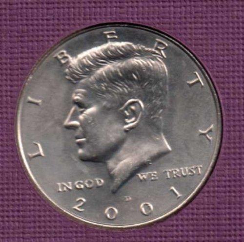 2001 d BU Kennedy Half Dollar         #2