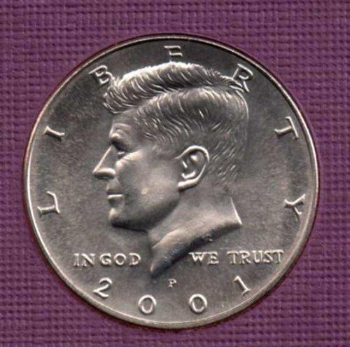 2001 p BU Kennedy Half Dollar      #3