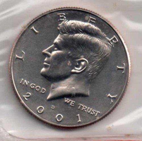 2001 d BU Kennedy Half Dollar      #3