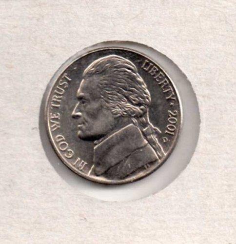 2001 d BU Jefferson Nickel