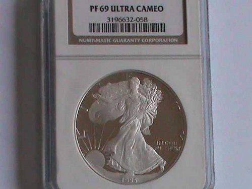 1995 PF69 American Silver Eagle