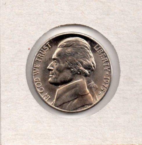 1975 d BU Jefferson Nickel