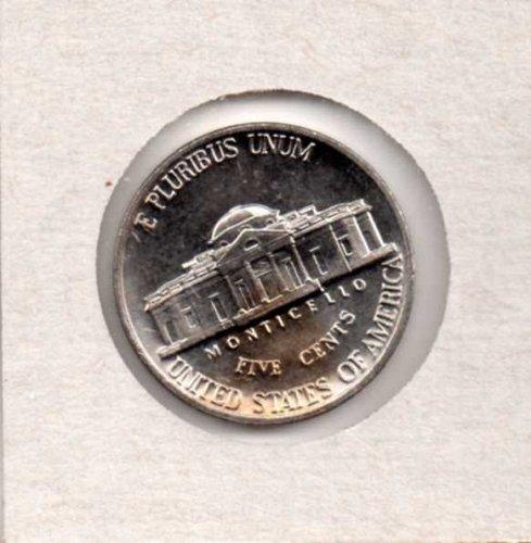 1987 d BU Jefferson Nickel