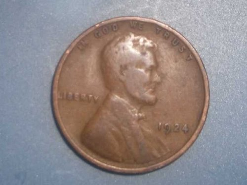 1924 wheat penny