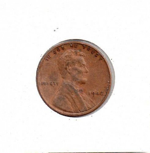 1942 p Lincoln Wheat Penny