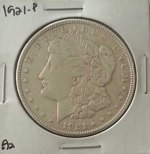 1921 P MORGAN SILVER DOLLAR US MINT COIN