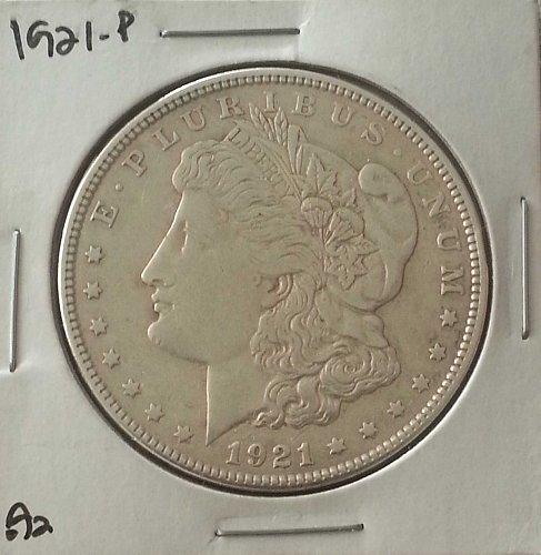 1921 P MORGAN SILVER DOLLAR US MINT COIN