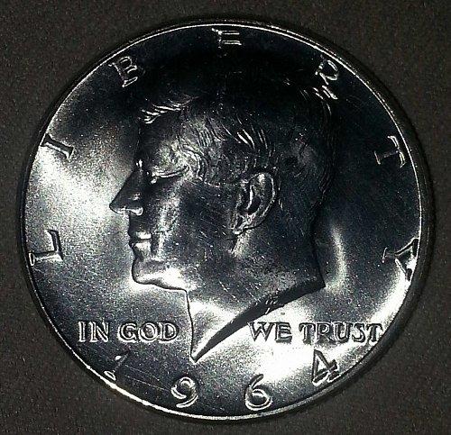 1964 Kennedy Half Dollar BU Coin Mint State