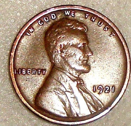 1921-P Lincoln Wheat Ears Small Cent~  An  Xtra-Fine Coin~FREE SHIPPING
