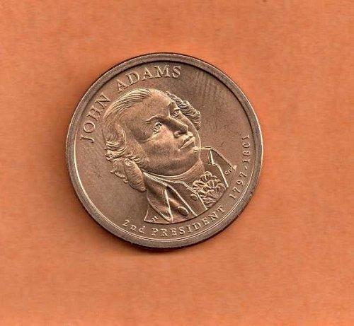 2007 p Presidential Dollar - John Adams