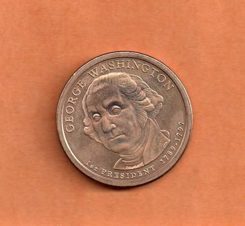 2007 d Presidential Dollar - George Washington