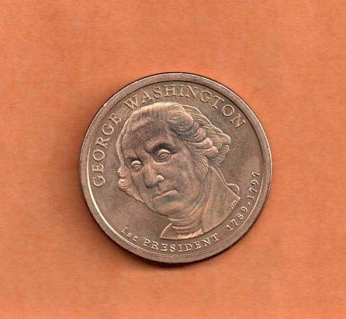 2007 d Presidential Dollar - George Washington