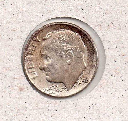 1958 d Roosevelt Dime          #2