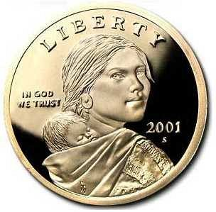 2001  S Sacagewea Dollar Proof