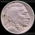 1928 S Buffalo Nickels