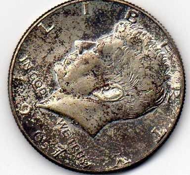 1967 kennedy half dollar