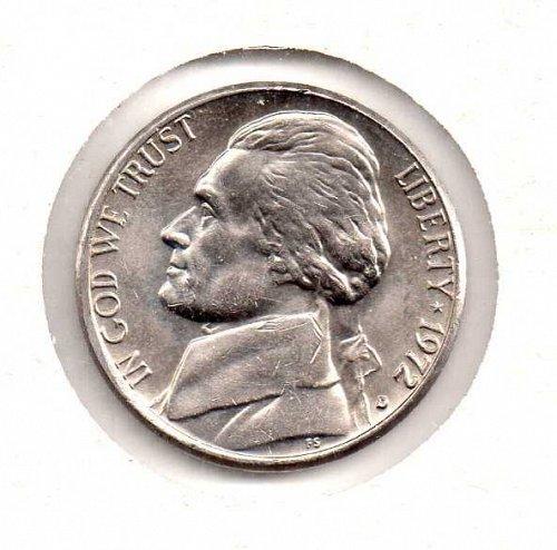 1972 d Jefferson Nickel
