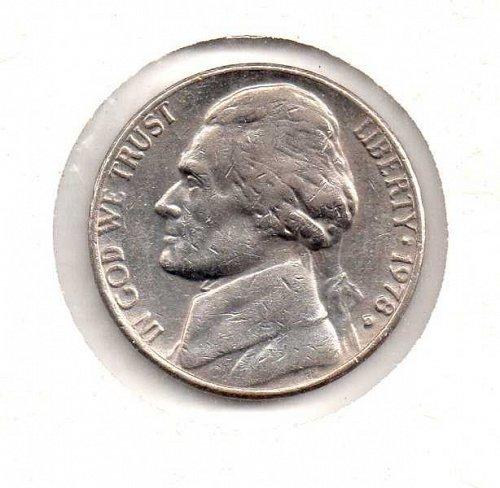 1978 d Jefferson Nickel               #2