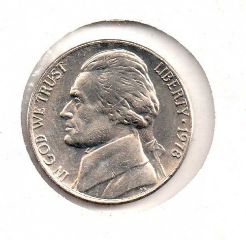 1978 p Jefferson Nickel