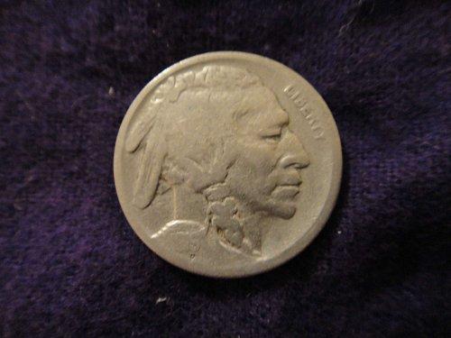 1919-S Buffalo Nickel Fine-12